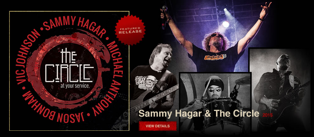 Featured Release: Sammy Hagar & The Circle: At Your Service