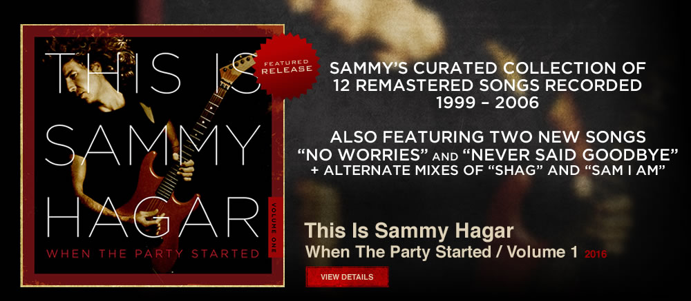 Featured Release: This Is Sammy Hagar Vol 1