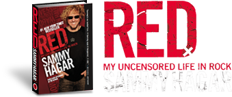 RED - MY UNCENSORED LIFE IN ROCK - SAMMY HAGAR