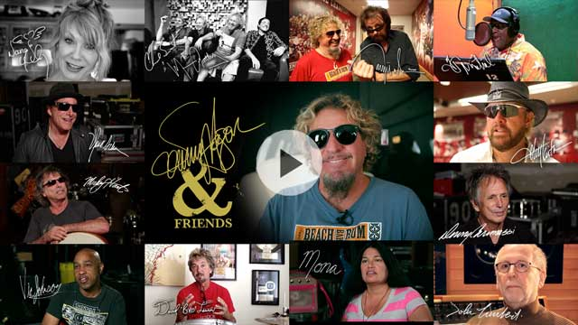 Watch Sammy with his Friends Dig Into the Making of 'Sammy Hagar And Friends'