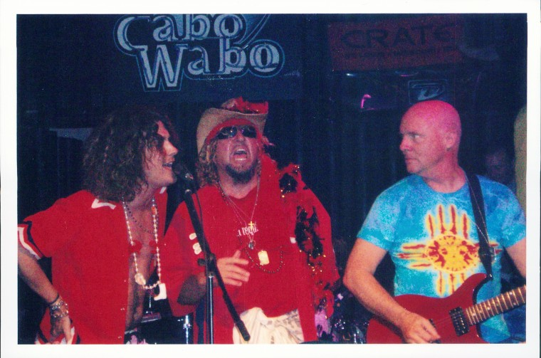 Sammy, Aaron, and Ronnie at the Cabo Wabo