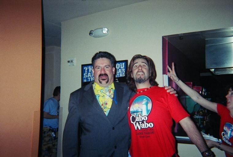 Fontanaman meets Aaron Hagar