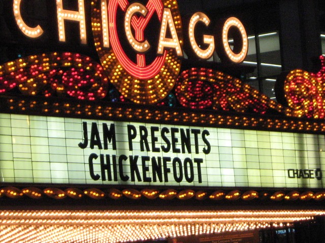 THE FOOT ROCKED THE HOUSE!