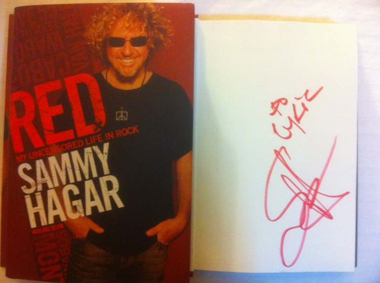 personalized book Sammy signed 'To Lyric'