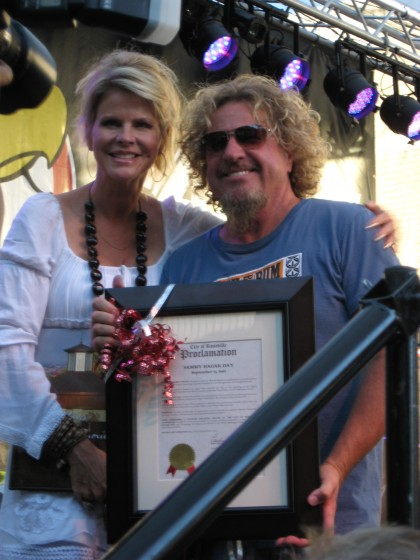 Official Proclamation of Sammy Day in Roseville CA