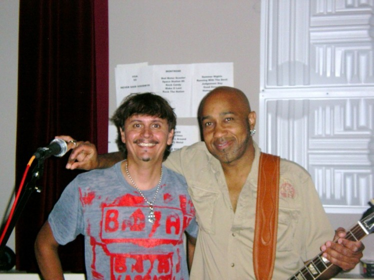 Vic & me in the studio! 6-27-2010