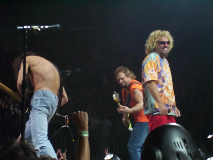 Van Halen Staples Center Los Angeles CA 8/20/04