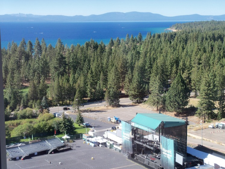 Lake Tahoe... What a venue...