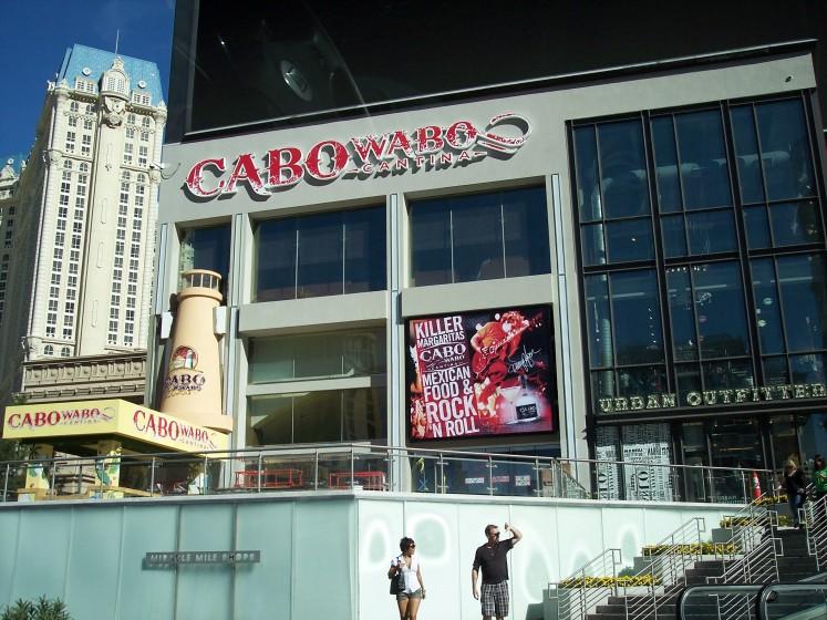 Cabo Wabo Vegas Style