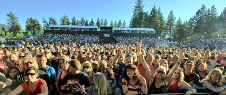 Lake tahoe , up front fanatics