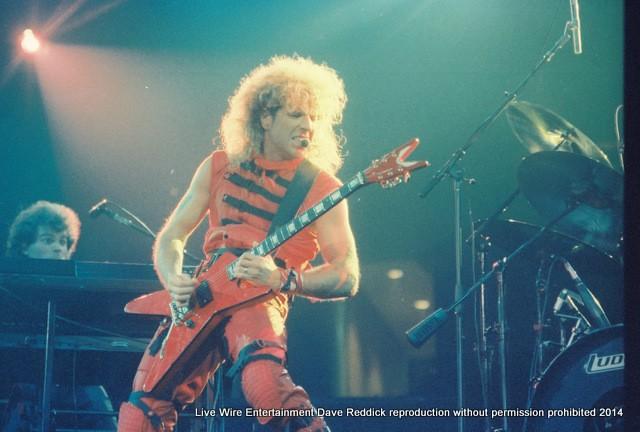 Sammy 1984 VOA Tour, Tulsa, Oklahoma, Convention Center