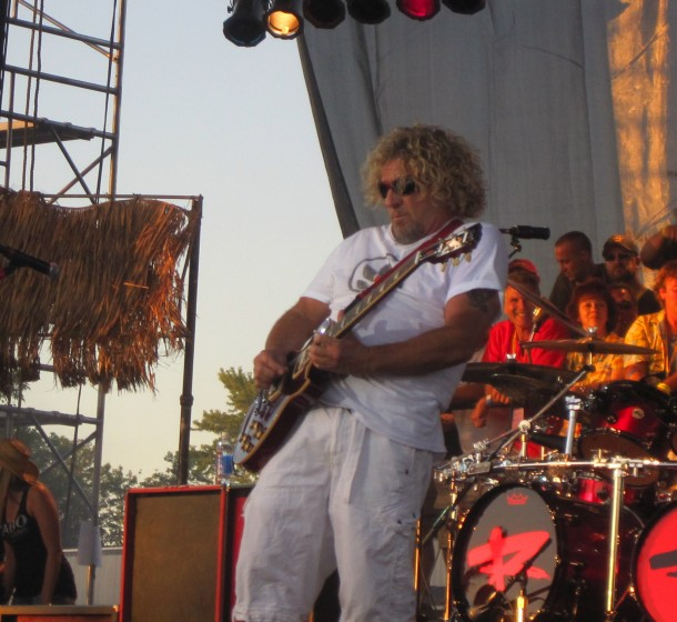 Sammy Hagar!