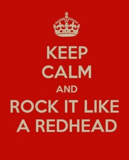 redheads rule
