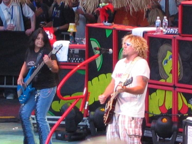 "Sammy & Mona  ""Livin It Up Tour"" Fontana"