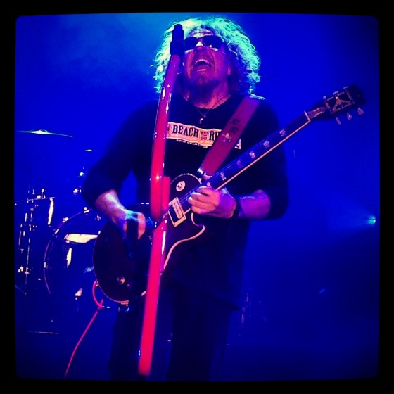 Chickenfoot in Lake Tahoe