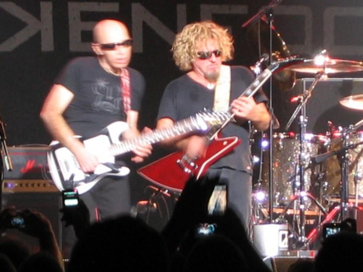 Joe & Sammy Chickfoot Las Vegas Hard Rock Casino The Joint