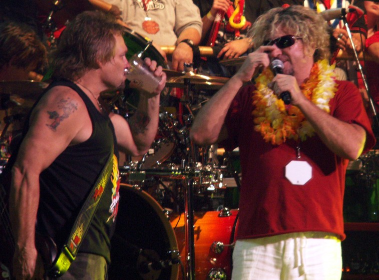 Sammy and Michael Anthony