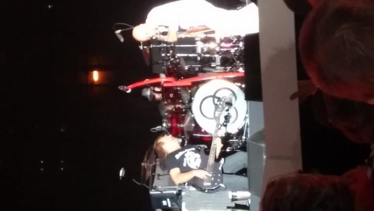 Vic, Mikey, and Jason Bonham