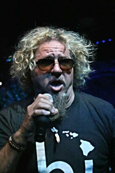 Sammy hagar bday bash