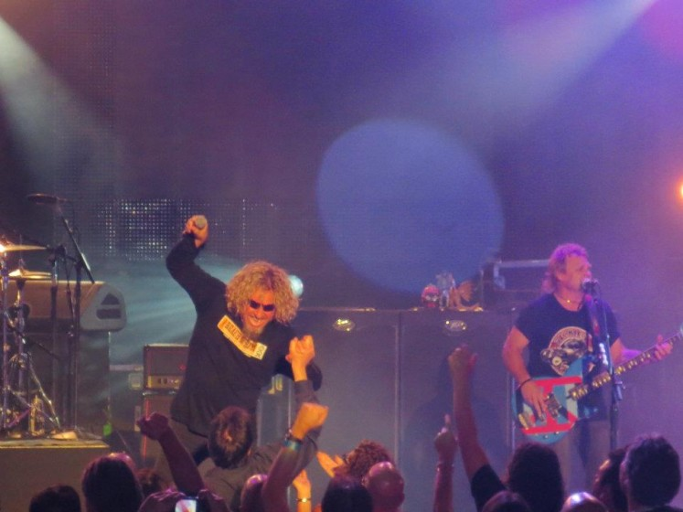 Chickenfoot at The Greek Theatre