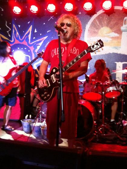 2010-7-30 - Party at Cabo Wabo at Planet Hollywood Las Vegas - Pre MGM Aerosmith Concert