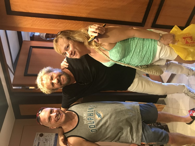 We met Sammy!!!