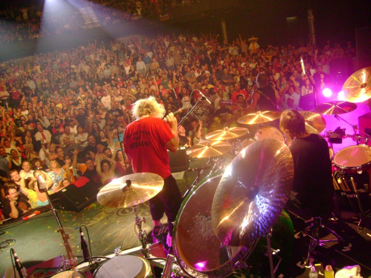 Onstage - Houston, TX - October 20, 2007