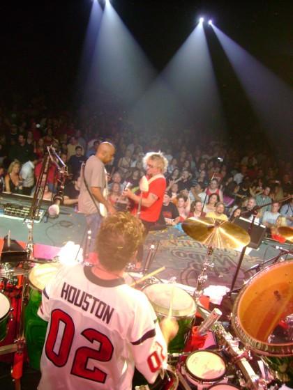 Onstage - Houston, TX - October 20, 2007