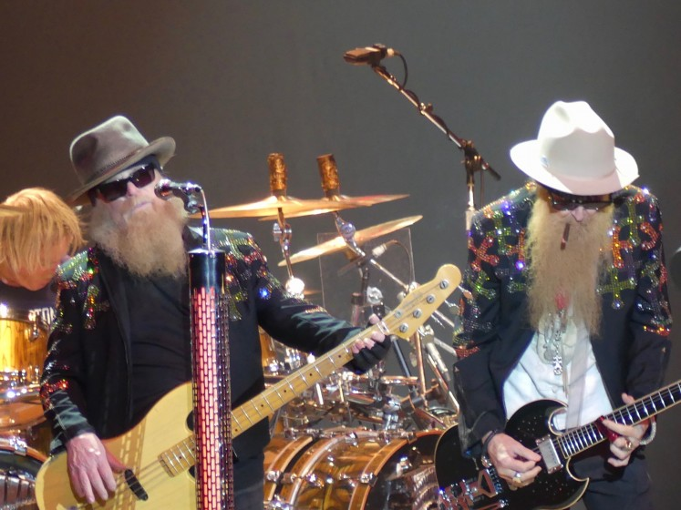 ZZ Top opening for The Circle