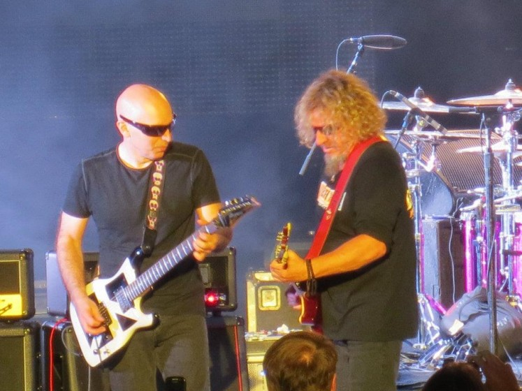 Sammy and Satriani @ The Greek Theatre
