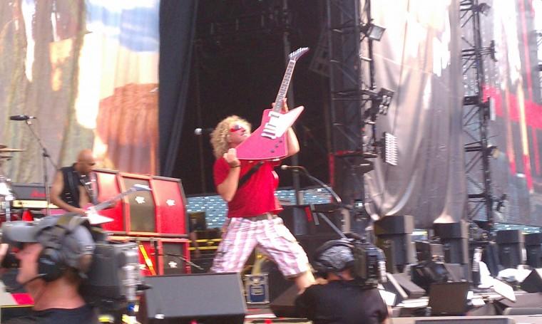 Sammy Jammin in Detroit -  Aug,13, 2011 W/ Kid Rock