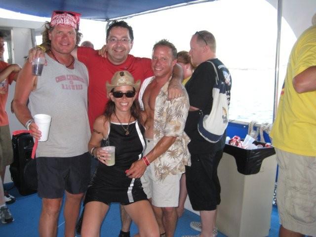 Cabo Redhead Booze Cruz!