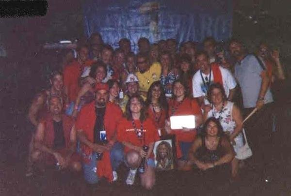 Group photo with Sammy & The Wabos! 7/27/03 Mansfield Ma.