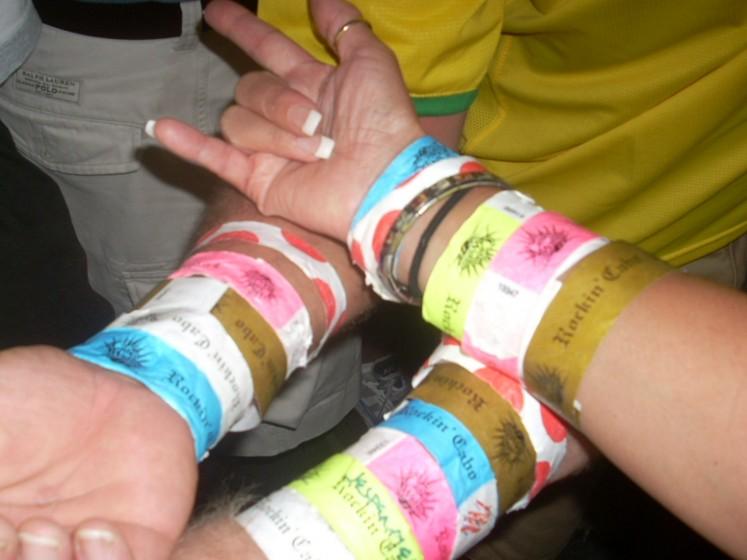 Wristband Mania!