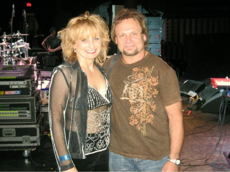 Kristy Fox & Michael Anthony in Tulsa