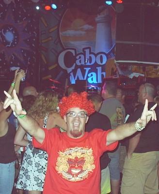 Benoit, inside Cabo Wabo Bash'2007