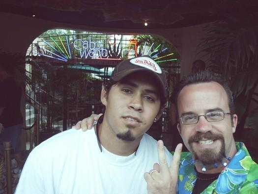 Benoit & Security guy, Cantina, Bash'2005