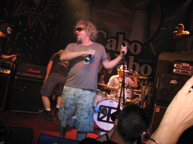 CHICKENFOOT AT THE CABO WABO APRIL 2010