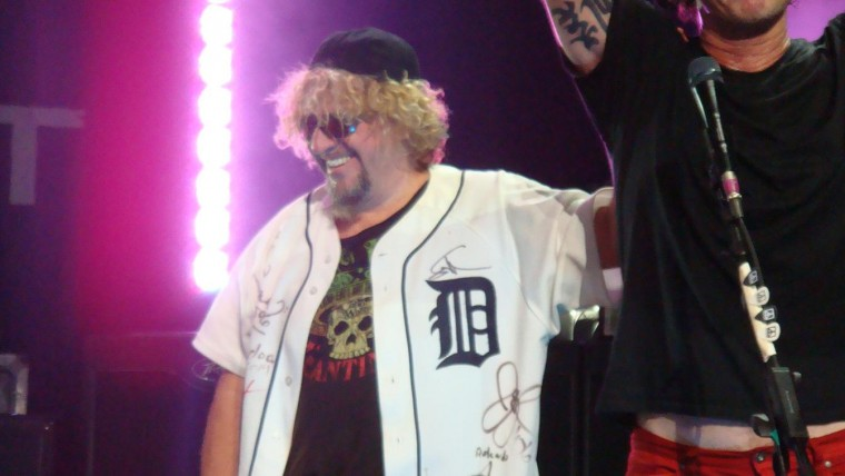 Sammy/Chickenfoot in Detroit, August 2009