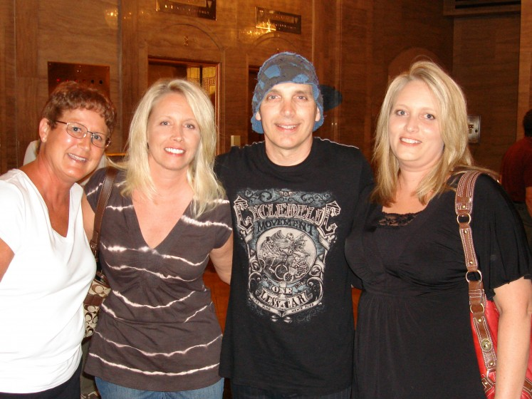 Ohio Sisters & Joe Satriani