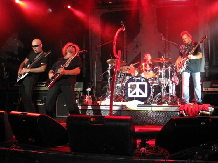 Chickenfoot at the Sound Academy in Toronto