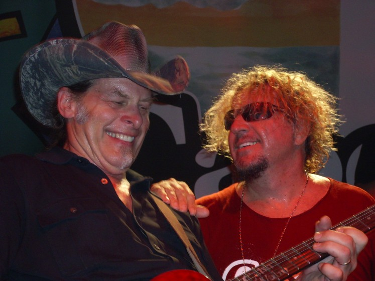 Sammy and Ted Nugent