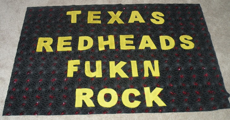 My Banner for the Houston Show - August 2010