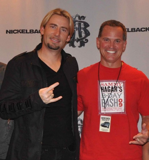 Me and Chad Kroeger