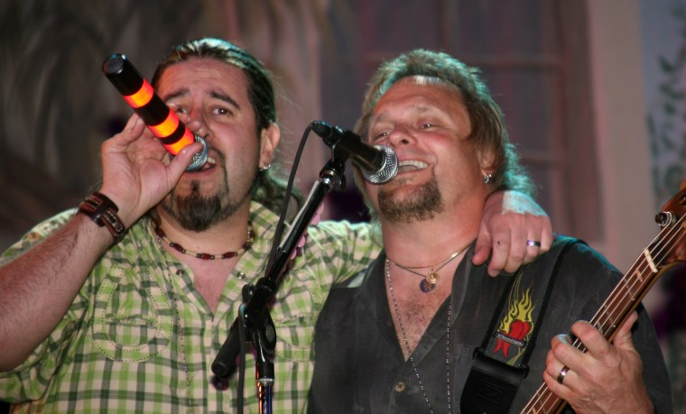 Aaron Hagar and Michael Anthony