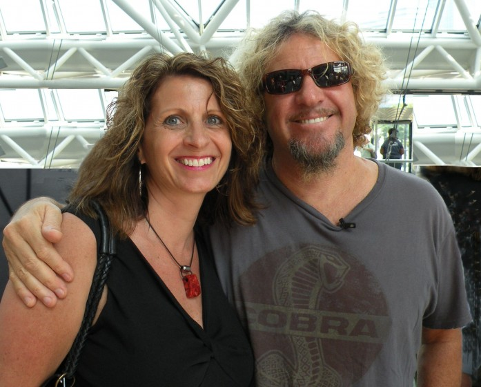 Me and Sammy at The Rock Hall!