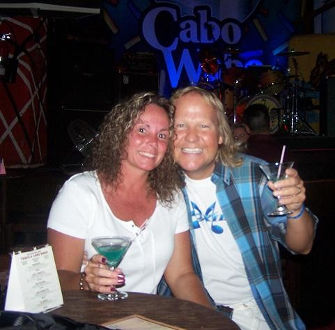Cabo San Lucas @ the Cabo Wabo Cantina Celebrating Honeymoon