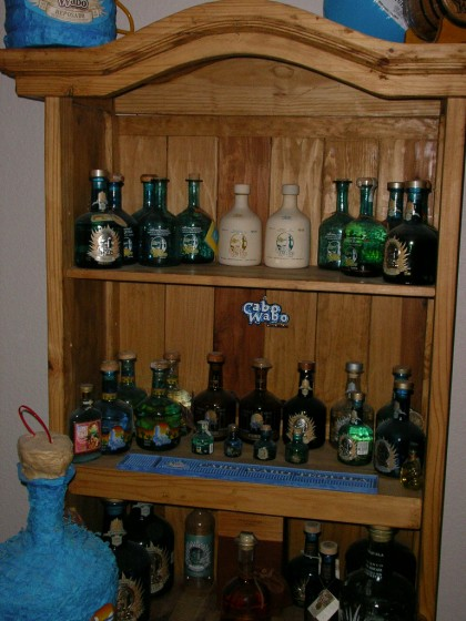 Cabo Wabo Tequila Bottle Collection