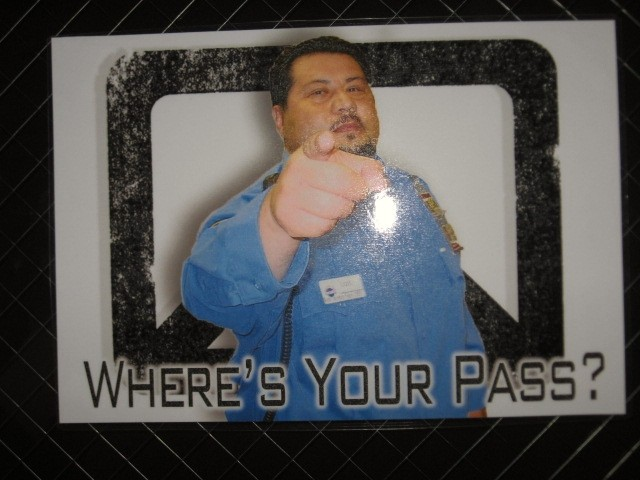 Where's Your Pass?
