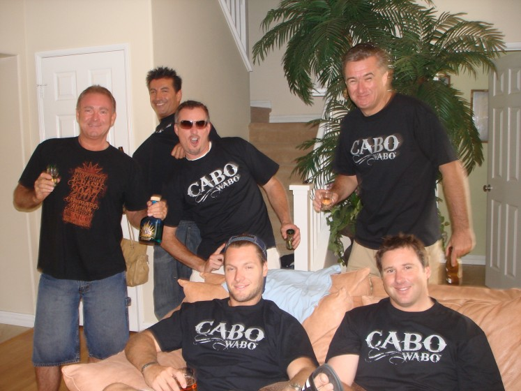 Cabo Wabo Party in California!